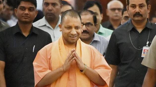 Uttar Pradesh chief minister Yogi Aditiyanath.(PTI File Photo)