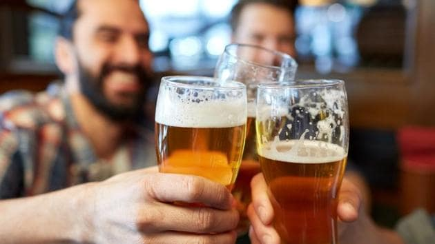 Moderate drinkers also performed more poorly on a specific verbal test.(Shutterstock)