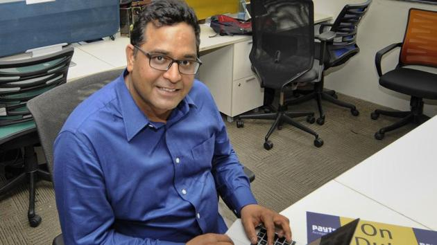 Paytm founder Vijay Shekhar Sharma is buying a property spread across 6,000-sq-ft close to Delhi's landmark areas like India Gate, Supreme Court, Delhi High Court.(HT FILE)