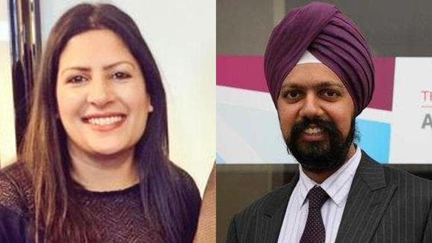 Preet Kaur Gill (left) became the first Sikh woman and Tanmanjeet Singh Dhesi the first turban-wearing Sikh politician to be elected to the UK House of Commons, results showed on Friday.(Twitter)