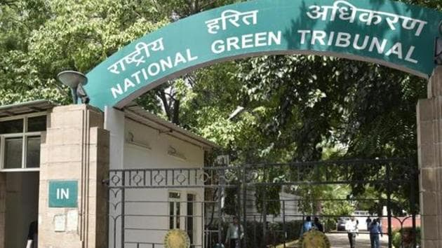 General View of National Green Tribunal. (Photo by Arvind Yadav/ Hindustan Times)(Hindustan Times)