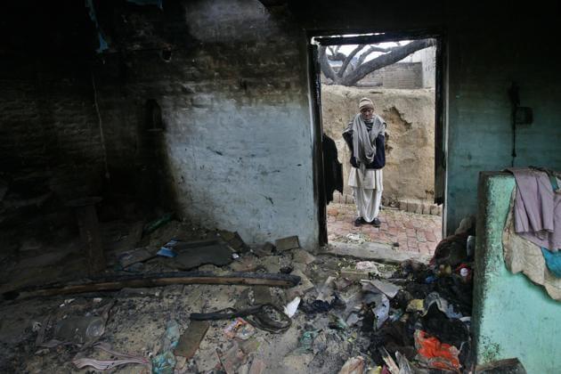 House of a Muzzafarnagar riot victim, Uttar Pradesh. In many incidents of violence, including Muzaffarnagar, WhatsApp messages played a negative role.(Raj K Raj/HT Photo.)