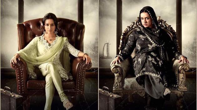 Actor Shraddha Kapoor will be seen in the film Haseena Parkar, a film based on Dawood Ibrahim's sister Haseena.(Twitter/ShraddhaKapoor)