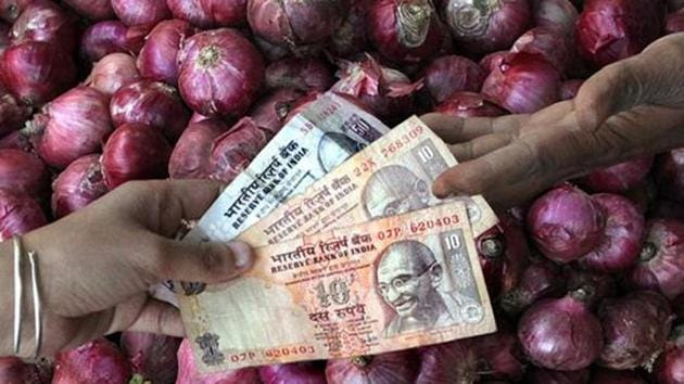 RBI's Households' Inflation Expectations Survey shows a declining trend for nearly four quarters now.(Raj K Raj/HT File Photo)