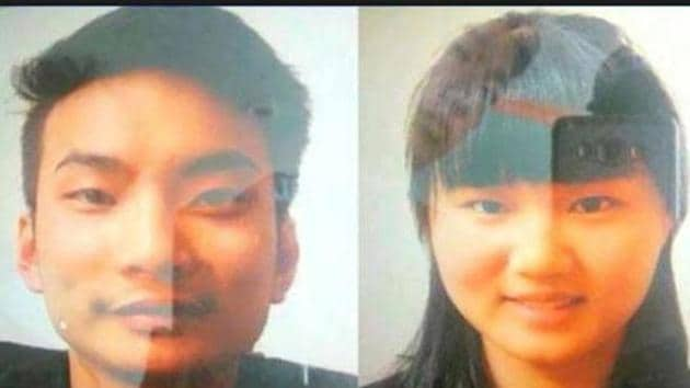 File photo of the two Chinese nationals who were kidnapped last month from Quetta city of southwest Pakistan. The Amaq agency said on Jun 8, 2017 that the Islamic State had killed the two Chinese nationals.(Twitter)
