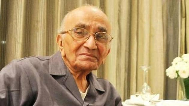 PN Bhagwati died at the age of 95.(ANI Photo)