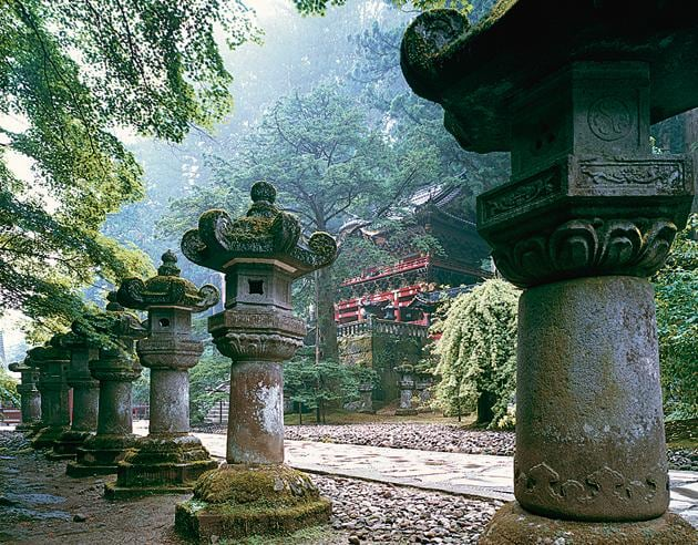 The Nikko Toshogu shrine complex was declared a World Heritage site in 1999(Courtesy The Japan Foundation)