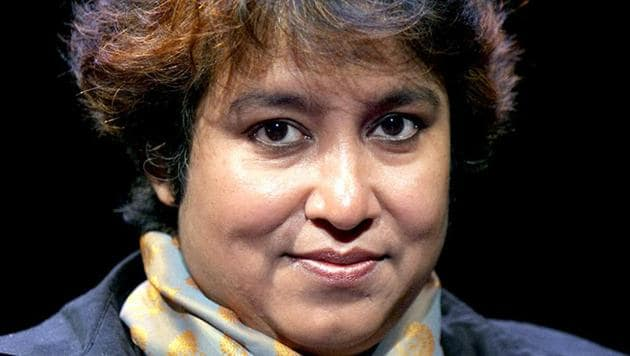 Bangladeshi writer Taslima Nasreen in Paris.(AFP File Photo)