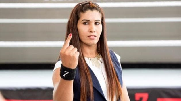 Kavita Devi will be among the 32 participants who will compete at the Mae Young Classic tournament next month.(WWE)
