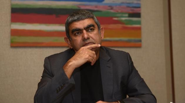 Infosys CEO, Vishal Sikka.(Livemint)