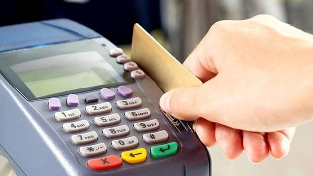 The agreement retailers sign with banks for card-swipe devices — technically called point-of-sale (POS) terminals — contains a clause forbidding them from charging customers for the facility.(Shutterstock)