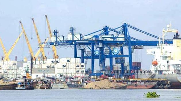 Fearing some clogging up of cargo, additional parking space is being made available.(File)