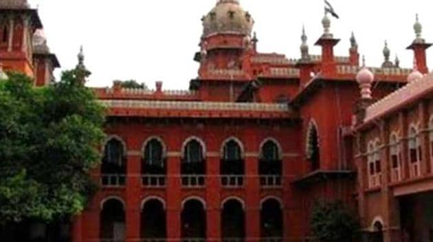 A file photo of Madras High Court.(PTI)