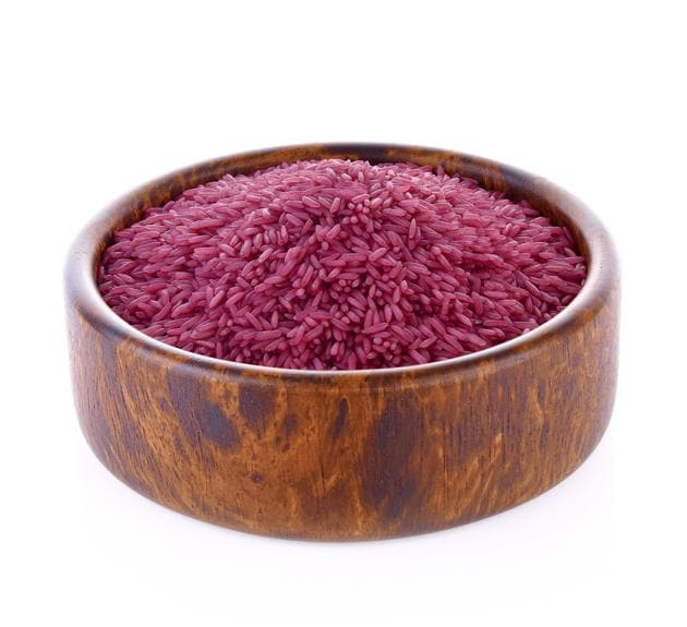 Purple rice may reduce risk of certain cardiovascular disease and chronic disorders.(Shutterstock)