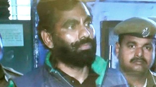 Anandpal Singh, a resident of Sanvarad in Naguar district, was killed in a police encounter on June 24 in Malasar village of Churu district.(HT FILE)