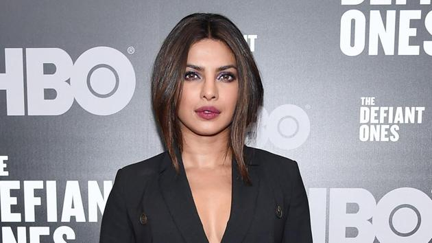 Priyanka Chopra attends The Defiant Ones premiere at Time Warner Center on June 27, 2017 in New York City.(AFP)
