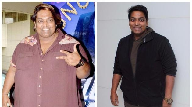 Before and after: Choreographer Ganesh Acharya says that he has lost 85 kg in the past one-and-a-half years.