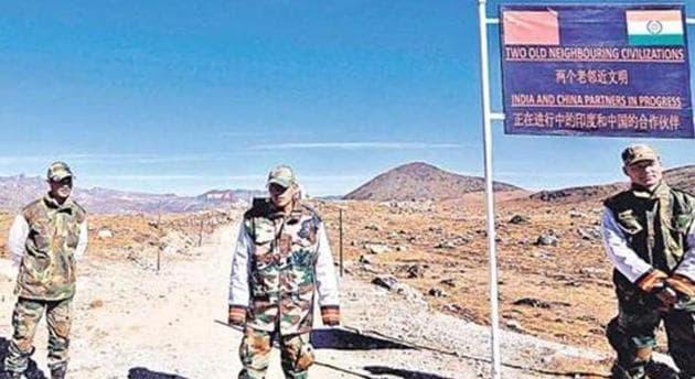 Army personnel along the India-China border in Arunachal Pradesh.(AFP File Photo / Representational)