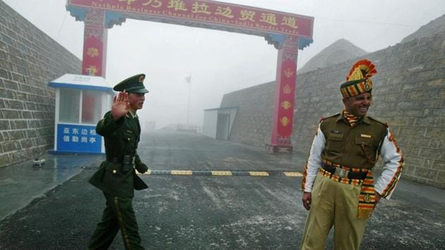 """The Chinese government is clear that it wants peaceful resolution for which withdrawal of Indian troops from the area is a """"pre- condition. Luo Zhaohui, the Chinese ambassador to India, said on Tuesday that the """"ball is in India's court"""".(AFPf ile)"""