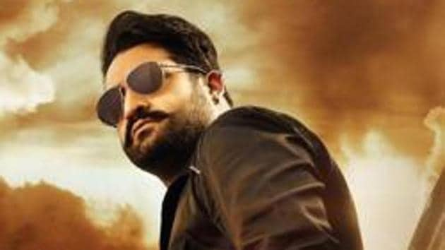 Jr NTR in the first look poster of Jai Lava Kusa.
