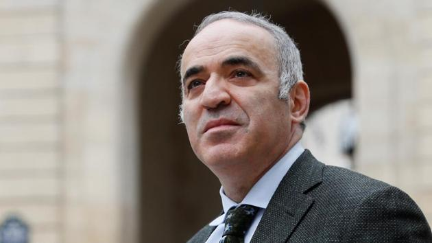 Former Russian World Chess Champion Garry Kasparov is coming out of retirement to play in a US tournament next month.(AFP)