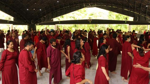 Hundreds of Osho meditation centres in India and the entire world will be conducting an event with full devotion.(HT Photo)