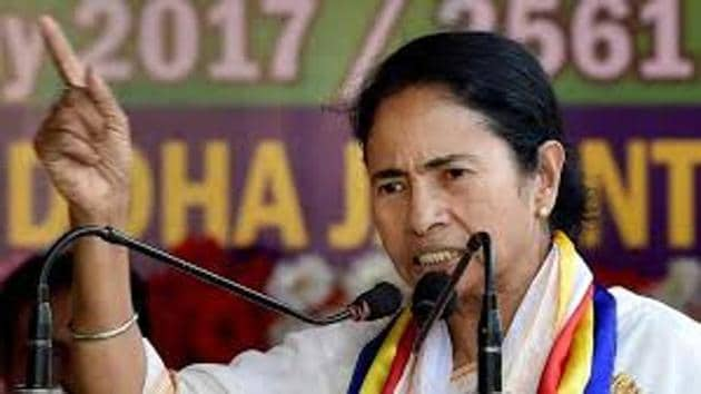 Some locals said that chief minister Mamata Banerjee should visit the affected areas in Basirhat and see the conditions they are living in for the past few days.(HT Photo)