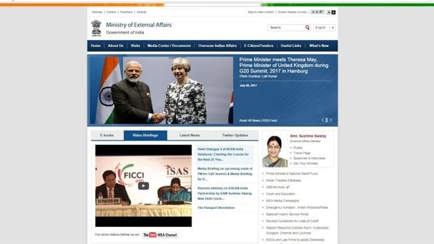 Apart the usual content of the ministry — speeches, briefings and other documents — the site will also have articles written in Arabic on India and its foreign relations.(Source: mea.gov.in)