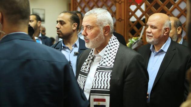 Hamas leader Ismail Haniya(AFP)