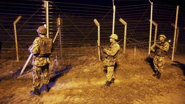 In the shelling, a trade facilitation centre and police barracks were damaged.(PTI File Photo)