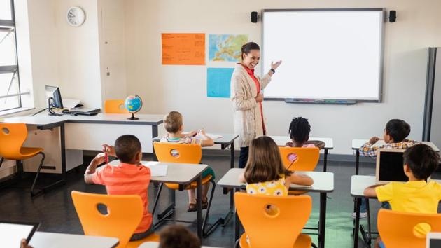The researchers found that social-emotional learning continued to have positive effects in the classroom but was also connected to longer-term positive outcomes.(Shutterstock)