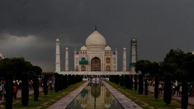 The Taj Mahal isn't part of Uttar Pradesh's cultural heritage, according to the Yogi Adityanath government's first state budget presented on Tuesday.(PTI)