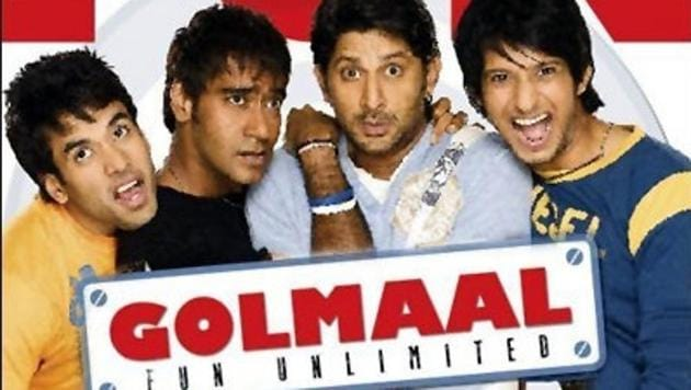 Director Rohit Shetty's comedy film Golmaal- Fun Unlimited released 11 years ago today.