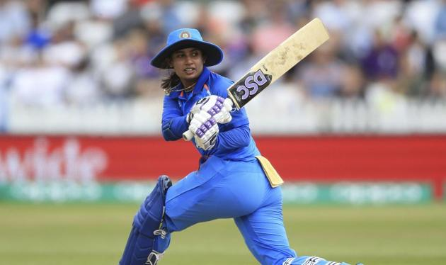 Indian cricket captain Mithali Raj during the ICC Women's World Cup fixture at the County Ground, Derby, England. Eighteen years after she began playing the 'gentleman's game' India cricket captain Mithali Raj still has to keep fielding sexist queries from callous journalists with a straight bat(AP)