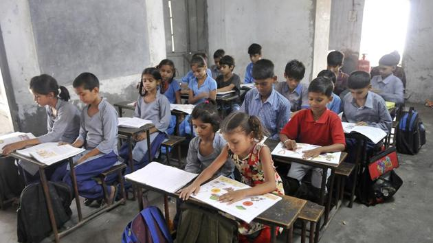 Surveys have found that absenteeism in school is high – not all enrolled students regularly attend school. (HT File Photo / Representational)