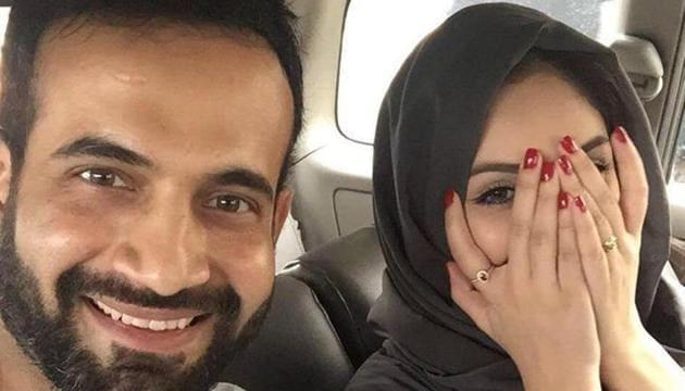 Irfan Pathan, Indian cricket team all-rounder, married Safa Baig last year.(Facebook)