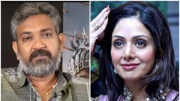 Sridevi was upset with SS Rajamouli after he made a candid comment on her 'starry ways' that came in the way of the makers of Baahubali casting her in the role of Sivagami.(HT Photo)