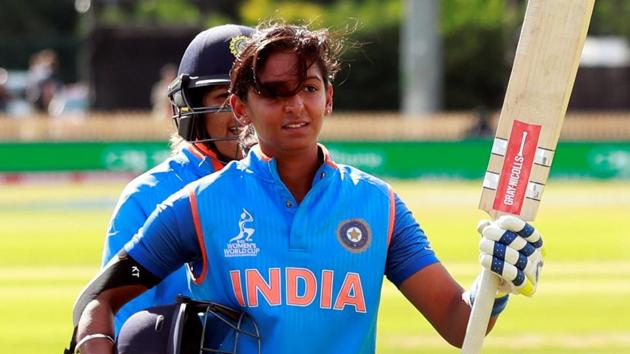 Harmanpreet Kaur's 115-ball 171* against Australia almost single-handedly guided India into Women's Cricket World Cup final.(Action Images via Reuters)