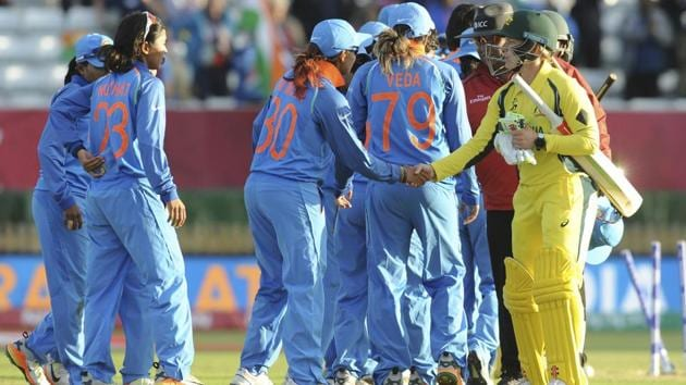 The Indian cricket team defeated Australia to enter the Women's Cricket World Cup final where they will take on hosts England.(AP)