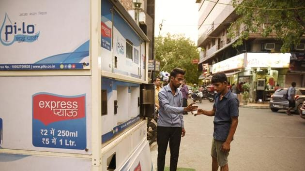 The agencies believe that the initiative would also help in reducing the use of plastic bottles, which pollute the environment. The machines will dispense a glass of water (250 ml) for Rs 2.