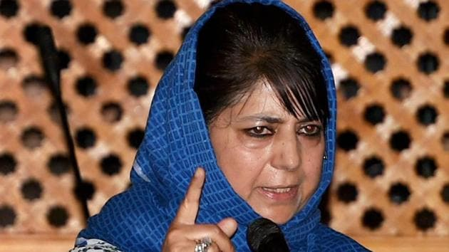 Jammu and Kashmir chief minister Mehbooba Mufti.(PTI File Photo)