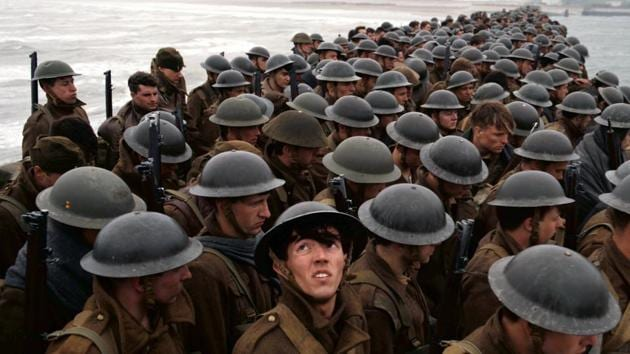 This image released by Warner Bros. Pictures shows a scene from Dunkirk.(AP)