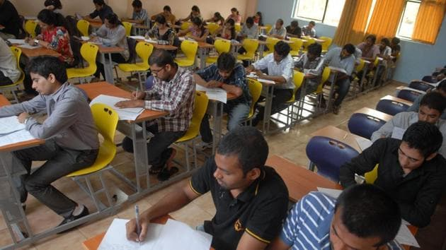 In 2015-16, 56% students graduating from engineering colleges remained unemployed.(File Photo)