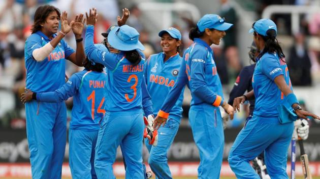 Despite India's stellar showing at the ICC Women's World Cup, a women's IPL is not yet in the pipeline.(Reuters)
