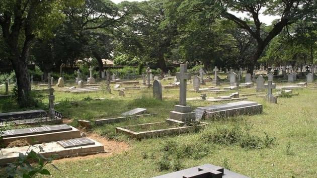 Over 100 crosses and plaques at the Guardian Angel Catholic cemetery in south Goa's Curchorem village, around 45 kilometres from Panaji, were desecrated earlier this month.(File)