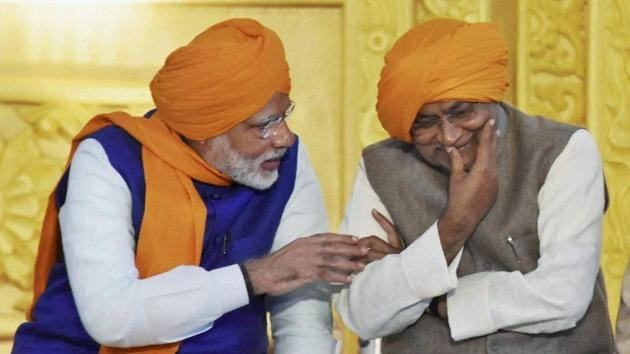 In Bihar, it marks the return of the pre 2013 arrangement and the BJP to power – ensuring that along with UP, it is in power in two of India's biggest states. It once again leads to an upper-caste/non Yadav backward/Dalit alliance. And it positions the NDA on way for a win in 2019.(PTI)