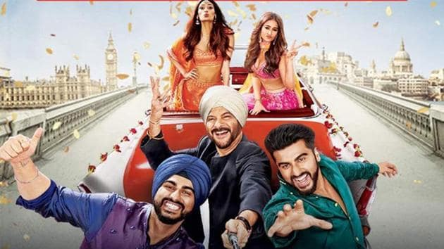 Anil Kapoor takes charge of the brigade in Mubarakan.