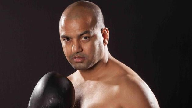 Akhil Kumar has shifted from amateur to professional boxing.(HT Photo)