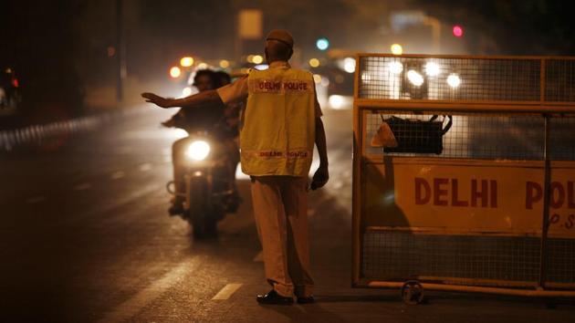 Delhi Police has registered a case of kidnapping, criminal intimidation and molestation at Vasant Kunj police station.(HT FILE)