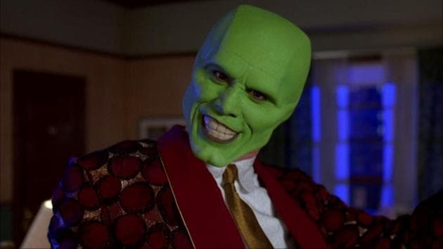 Jim Carrey in a still from the global hit The Mask.